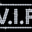 diamantes VIP — Vector de stock