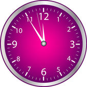 Clock - Time — Vector de stock