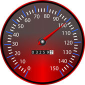 Tachometer — Stock Vector