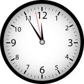 "Clock ""5 to 12"" — Stock Vector"