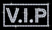 VIP Diamonds — Stock Vector