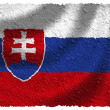 Flag of Slovakia — Stock Photo