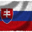 Stock Photo: Flag of Slovakia