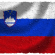 Flag of Slovenia — Stock Photo