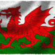 Flag of Wales — Stockfoto