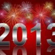 New Year 2013 — Stockfoto