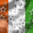 Stock Photo: Soccer Ivory Coast