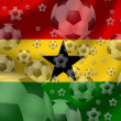 Soccer Ghana - Foto de Stock  
