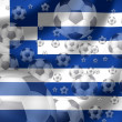 Soccer Greece - Foto de Stock  