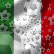 Soccer Italy — Stock Photo