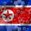 Stock Photo: Soccer North Korea