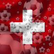 Soccer Switzerland — Foto Stock
