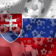 Stock Photo: Soccer Slovakia