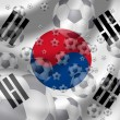 Soccer South Korea — Stock Photo #5200982