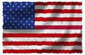 National Flag of the USA — Stock Photo