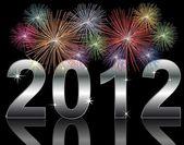 Nový rok 2012 — Stock fotografie