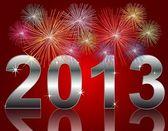 Nowy rok 2013 — Zdjęcie stockowe