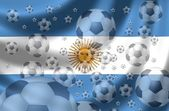 Fotboll argentina — Stockfoto