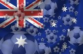 Fotboll australien — Stockfoto
