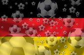 Fotbal německoサッカー ドイツ — Stock fotografie