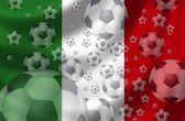 Fotbal itálie — Stock fotografie