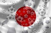 Soccer Japan — Stock Photo