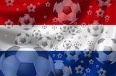 Piłka nożna holandia — Zdjęcie stockowe