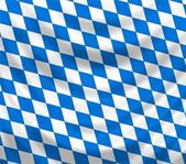 Bavarian flag — Stock Photo