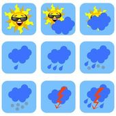 Symboles météo — Photo