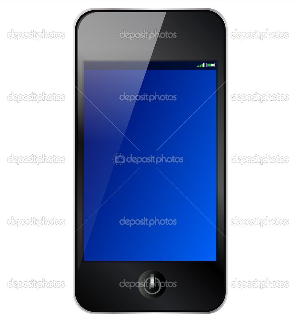 Smartphone Touchscreen  Stock Photo #5200756