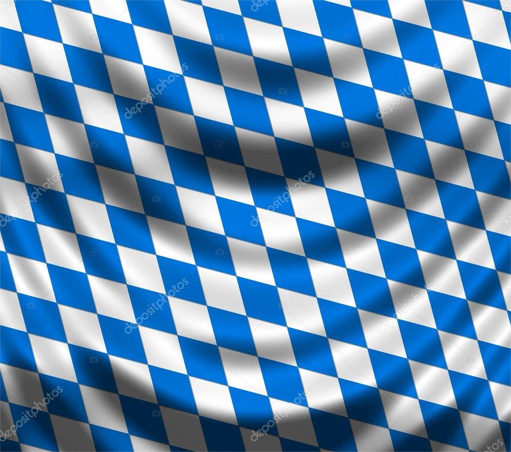 Bavarian flag — Stock Photo © pdesign #5201001