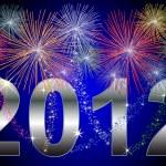 New Year 2012 — Stock Photo