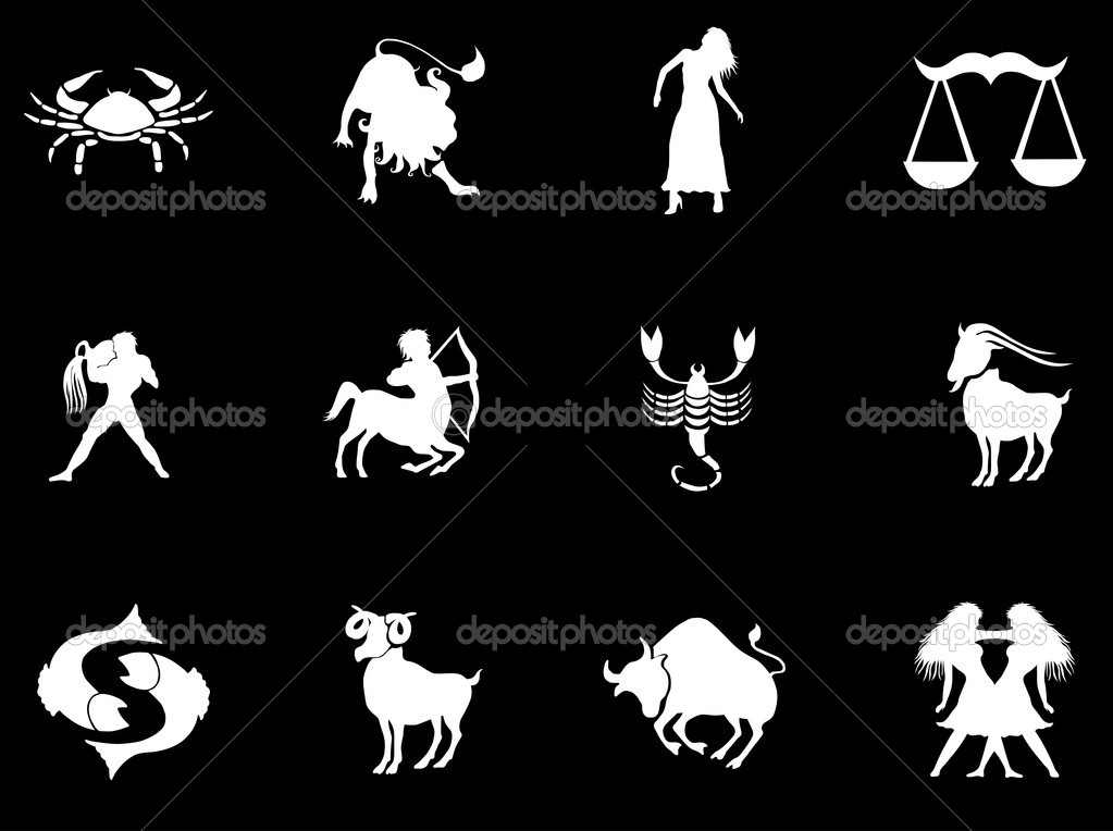 Set of zodiac signs — Stock Photo #5270000