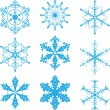 Snowflakes 1 — Stock Vector