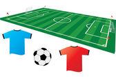 Soccer 2 — Stock Vector