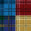 Tartan pattern — Stock Vector #4465123