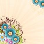 Flower background 3 — Stock Vector #4869493