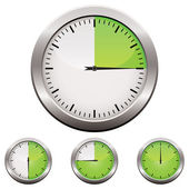 Analoger timer — Stockvektor