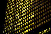 Euro Flights — Stock Photo