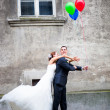 Give me the balloons — Stock Photo #5092463