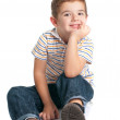 Cute Boy Isolated — Stock Photo #4274017