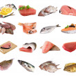 Fish and fish fillets — Foto Stock