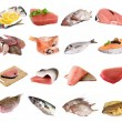 Stock Photo: Fish and fish fillets