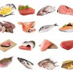 ryby a rybí filé — Stock fotografie