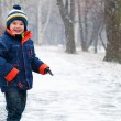 Winter Boy — Stock Photo #4489661