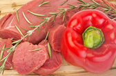 Carne de res — Foto de Stock