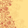 Cтоковый вектор: Abstract floral background