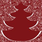 Abstrakt jul bakgrund — Stockvektor