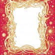 Holiday frame — Stock Vector
