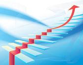Concetto di successo aziendale — Vettoriale Stock